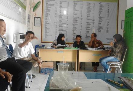 Rapat Pleno PPS Desa Tanjung Harap