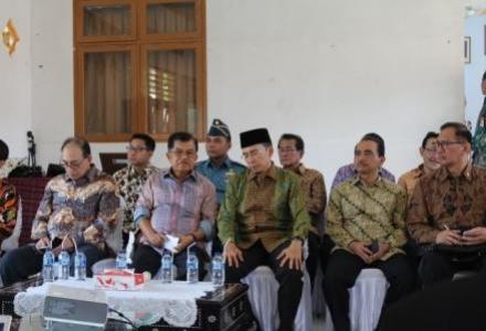Wapres Yusuf Kalla Luncurkan Sistem Informasi Desa (SID) di Lombok Tengah