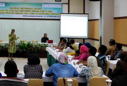 Pelatihan Penyusunan APBDesa yang Pro Poor dan Responsive Gender