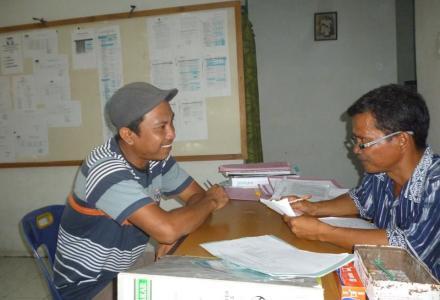 Panwaslu Serba Jadi Seleksi Pengawas TPS Desa Tanjung Harap