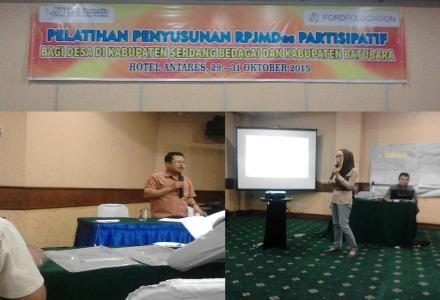 Desa Tanjung Harap Ikuti Pelatihan Penyusunan RPJM Desa Partisipatif