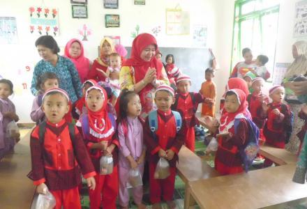 Tim Penilai PAUD Terbaik Kabupaten Serdang Bedagai Kunjungi PAUD Kasih Ibu Tanjung Harap