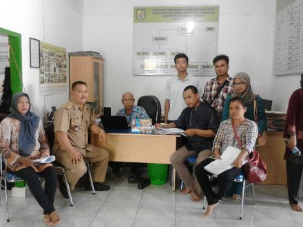 Desa Tanjung Harap Mulai Jalankan  Metode Pendataan AKP