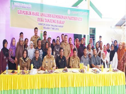 Bupati Serdang Bedagai Ikuti Uji Publik Hasil Analisis Kemiskinan Partisipatif Desa Tanjung Harap