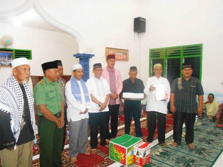 Mesjid Ar-Rahman Terima Kunjungan Tim XI Safari Ramadhan Pemkab Serdang Bedagai