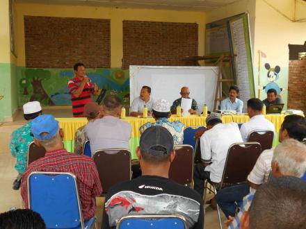 Melalui TKPKDesa, Pemerintah Desa Sosialisasikan Pokja Pengaduan Masyarakat