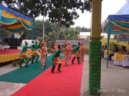 Penilain Kecamatan Terbaik 2017 sekaligus Halal Bihalal Kecamatan Serba Jadi