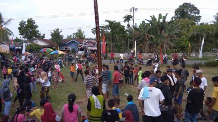 Kreatifitas Karang Taruna Desa Tanjung Harap, Meriahkan Perayaan 17 Agustus 2017