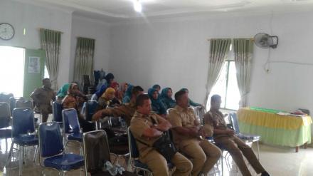 Puskesmas Kuala Bali Adakan Sosialisasi Kesehatan di Kantor Desa Tanjung Harap